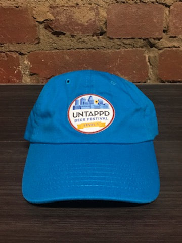 Turquoise Untappd Beer Festival Badge Hat