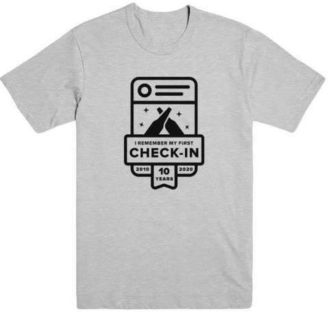 I Remember My First Check-in Shirt
