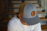 Untappd Leather Badge Hat