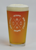 Cipher Pint Glass - 4 Pack