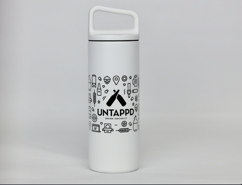 Untappd 16oz Anatomy Bottle