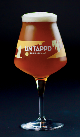 Untappd Rastal Teku Glass - 4 Pack
