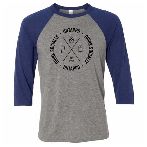Untappd Cipher Baseball Tee