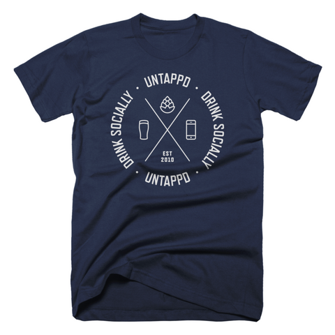 Untappd Cipher Logo Shirt