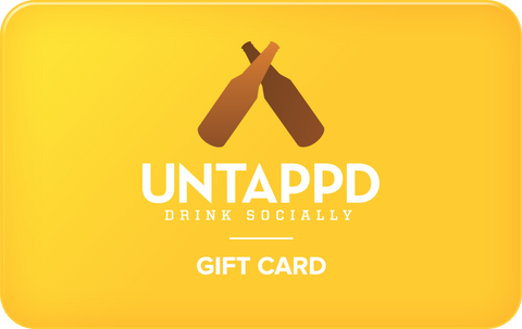 Untappd Store Gift Card