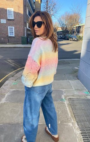 Tori Rainbow Sweater
