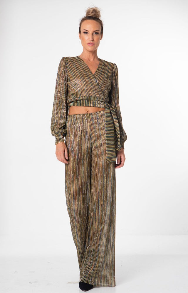 Load image into Gallery viewer, Maya Lurex Co-Ord Set