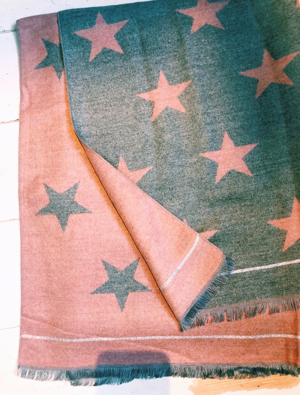 All Stars Scarf Grey / Pink