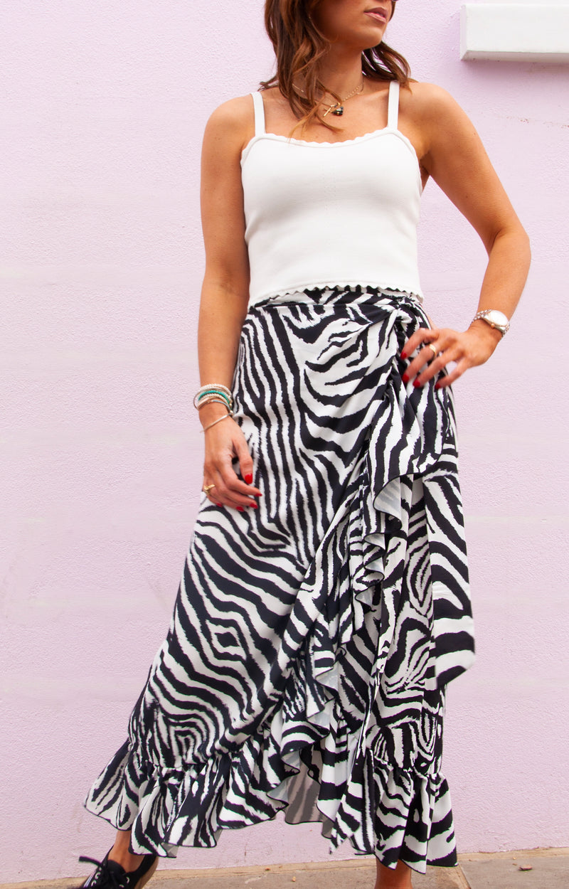 SCARLETT Skirt in Zebra