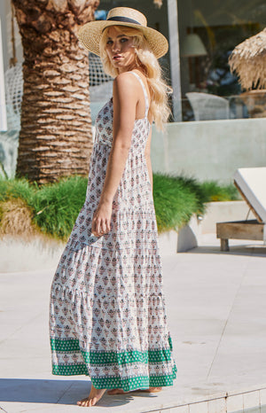 JA BEA DRESS IN MASTO PRINT