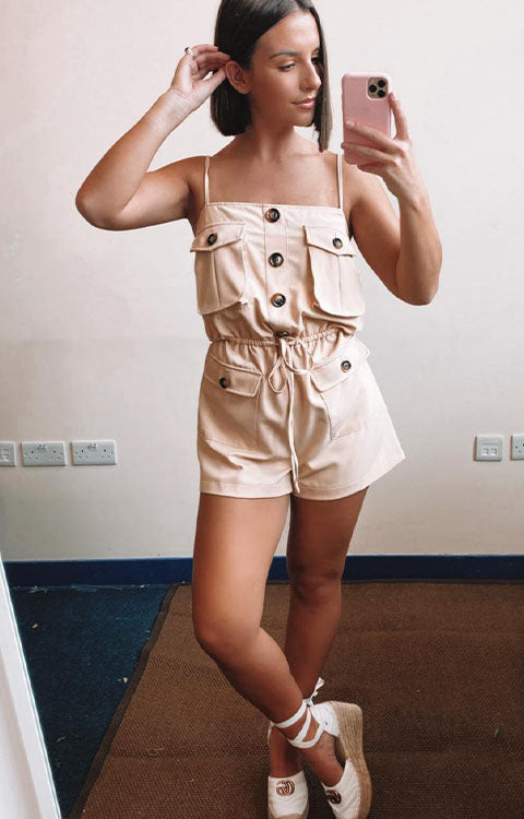 Pocket Playsuit all colours