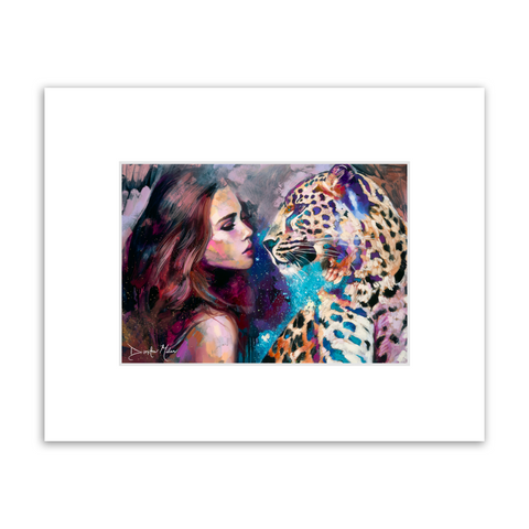 Aligned Destiny Matted Print