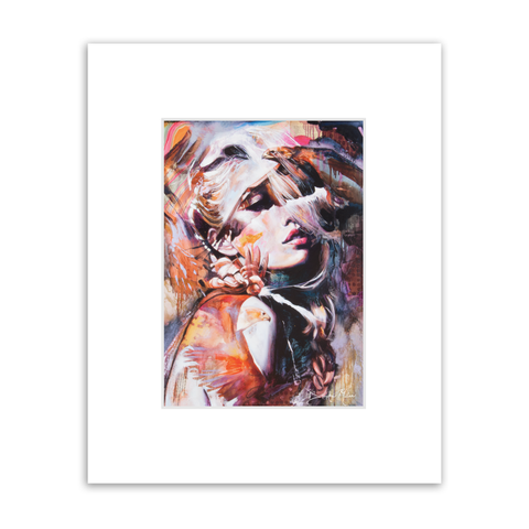 Bombshell Matted Print