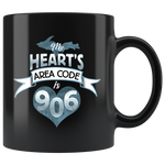 Yooper Mug - My Heart's Area Code is 906