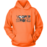 Yooper Strong Upper Peninsula of Michigan Hoodie
