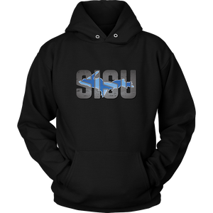 Sisu Hoodie with Upper Michigan Outline - Finlander Strength