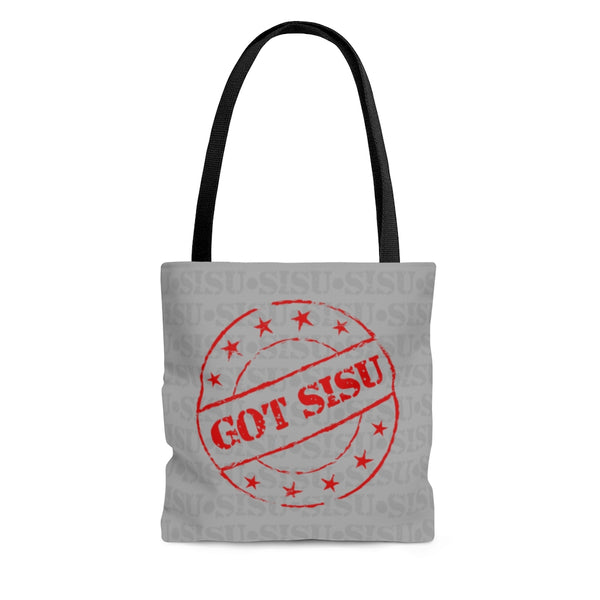 Sisu Tote Bag for Finnish Yoopers | Got Sisu Stamp