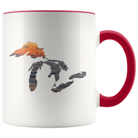 Great Lakes Coffee Mug | Sunset Over Water