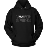 Yooper Strong Hoodie Unisex | Upper Michigan Hooded Sweatshirt | Upper Peninsula Gift