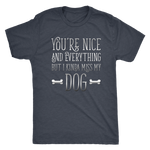 Funny Dog Lovers Shirt - Miss My Dog