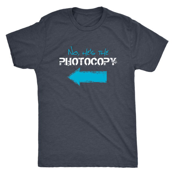 Funny Twin Brothers Shirt - No, He's the Photocopy