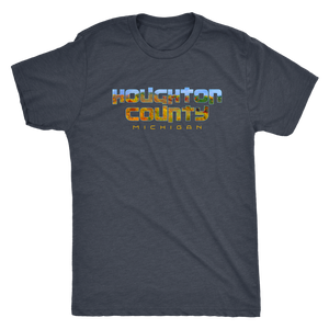 Houghton County Michigan Shirt - Fall Colors on Mont Ripley