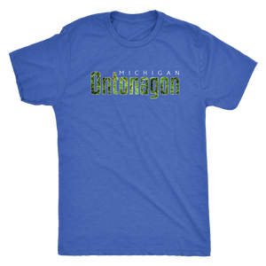 Ontonagon Michigan Shirt - Pine Needles