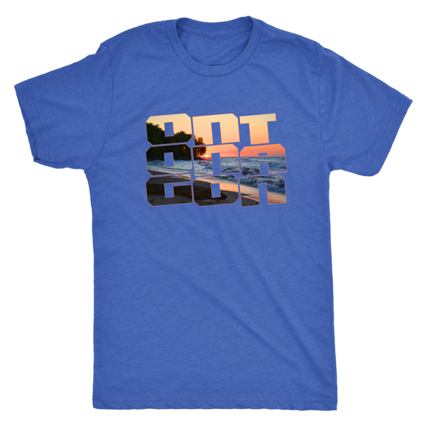Ontonagon Shirt - Sunset on Lake Superior Beach