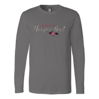 Yooper Girl Long Sleeve Shirt - Don't Mess With a Yooper Girl - Upper Michigan Shirt