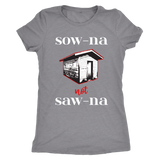 Funny Sauna Shirt - How to Pronounce Sauna - Gift for Yoopers/Finns