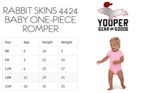 Super Yooper Pooper Baby Body Suit | Upper Michigan Infant One Piece Romper