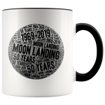 Moon Landing Mug - 50 Years 1969-2019 Moon Mission for Astronomers