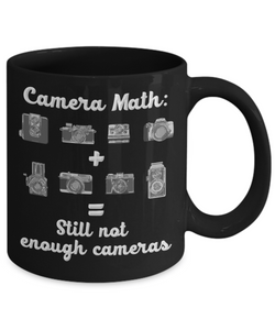 """Camera Math"" Photographer Mug Still Not Enough"