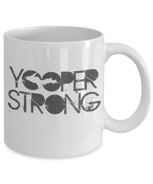 Yooper Strong Mug - Upper Michigan