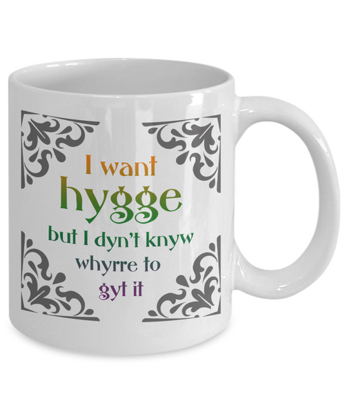 Hygge Mug - Danish Art of Happiness