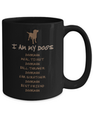 I Am My Dog's Doorman Mug - Gift for Dog Lovers