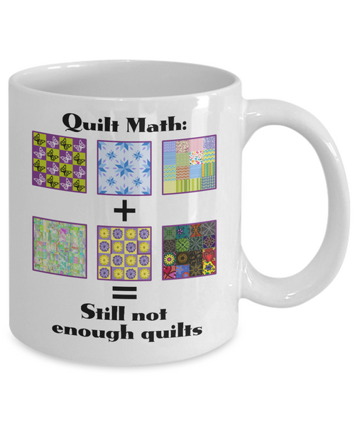 Quilting Coffee Mug for Quilt Lovers