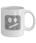 Meh Coffee Mug - Great Gift for People Who Don't Care