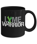 Lyme Disease Warrior Mug With Green Ribbon