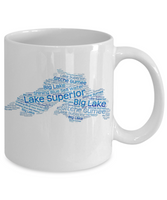 Lake Superior Mug - Largest Great Lake