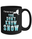 New York Coffee Mug You Don't Know Snow
