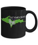 Upper Michigan Mug - Get Your Kicks in the 906