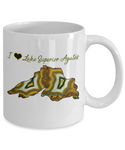 I Love (Heart) Lake Superior Agates Mug
