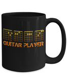 D-E-A-F Guitar Player Mug Tab