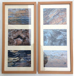 Driftwood Pattern Prints Set of 2