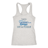 Michigan Tank Top - Next Level Racerback Tank for Women