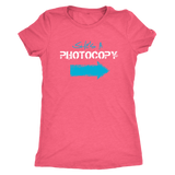 Funny Twin Sisters Shirt - She's a Photocopy