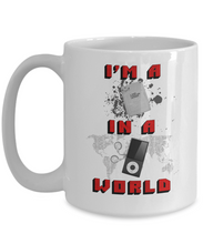 (8 Track) In a (MP3) World Mug Baby Boomers