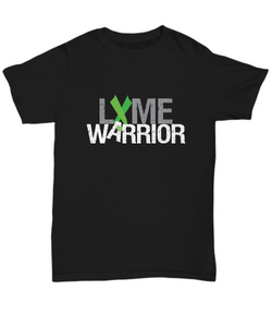 Lyme Warrior Shirt - Lymes Green Ribbon