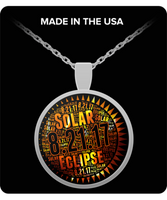 Solar Eclipse Necklace August 2017 Astronomy